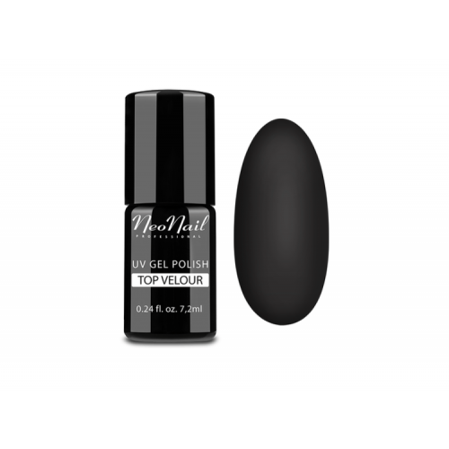Vernis Permanent -  NeoNail -  TOP Matt Velour  5551 - 7.2 ml