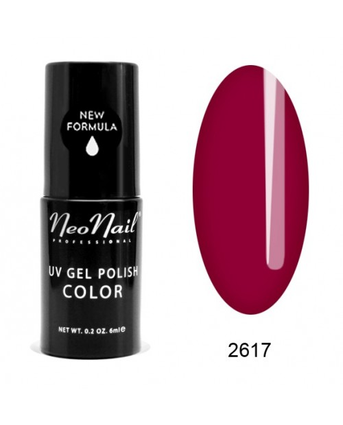 Vernis Permanent -  NeoNail -  Wine Red 2617 - 6 ml
