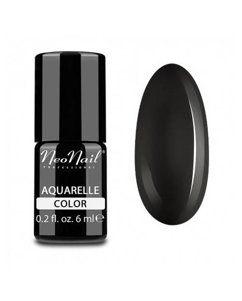 Vernis Permanent - Neonail - Black Aquarelle - 5514- 6 ml