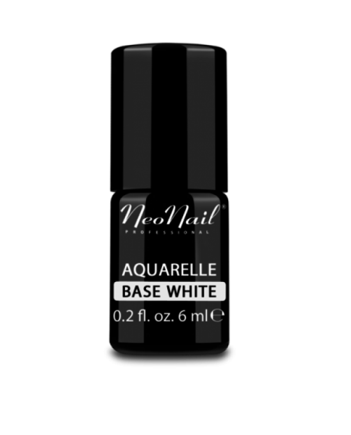 Vernis Permanent - Neonail - Aquarelle Base White - 6 ml