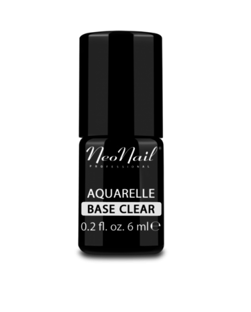 Vernis Permanent -  NeoNail - Aquarelle Base Clear -  6 ml