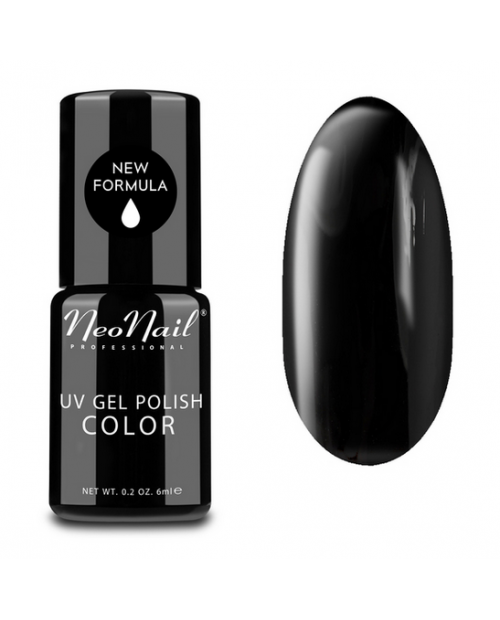 Vernis Permanent -  NeoNail - Pure Black 2996 - 6 ml