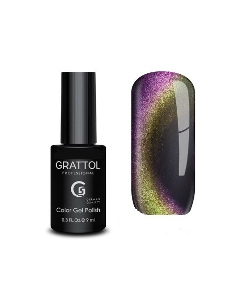 Vernis Permanent  Grattol Magnetic Mystery Cat 01 - 9ml