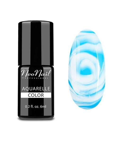 Vernis Permanent - Neonail -Blue Aquarelle - 5512- 6 ml