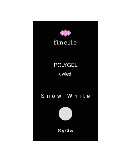UV/LED Polygel - Snow White