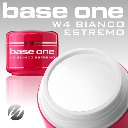 Gel Base One w4 Bianco Estremo - builder- 15gr
